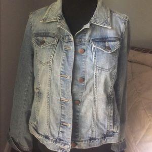 Like new, Ann Taylor LOFT, denim jacket